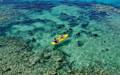 Kayaking the Crystal Clear Blue Waters, Bermuda