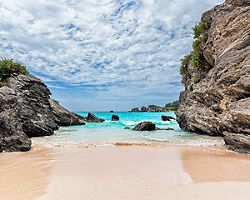 Bermuda's most famous beach