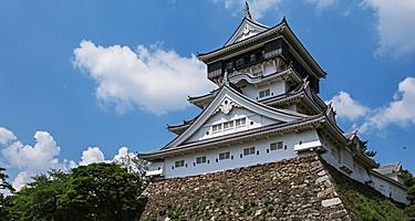 The Kokura Castle in Kitakyushu, Japan