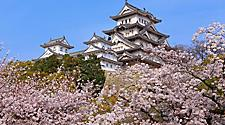 The Himeji Castle in Kobe, Japan