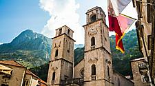 The Kotor Cathedral in Kotor, Montenegro