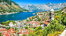 View of the city of Kotor, Montenegro