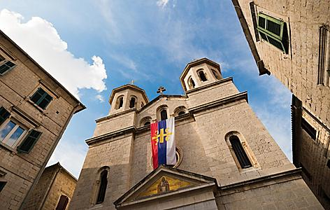 Saint Nicholas Church in Kotor, Montenegro