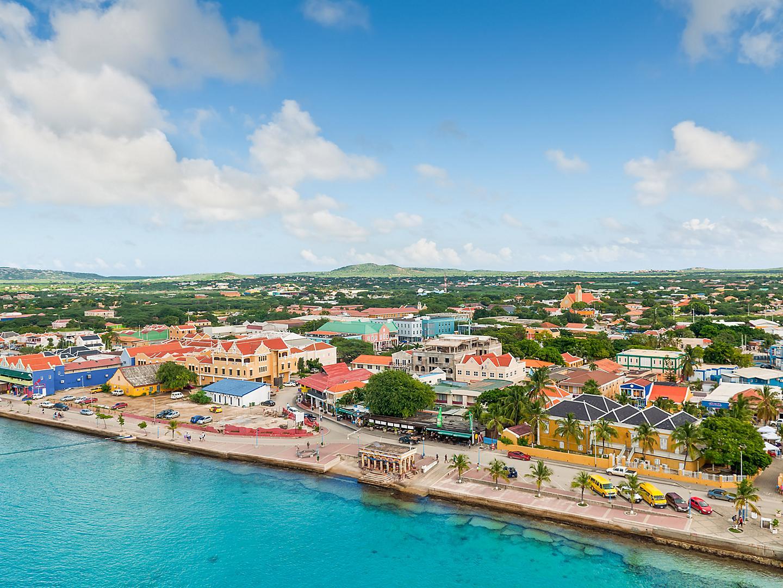 Kralendijk, Bonaire, Architecture Aerial