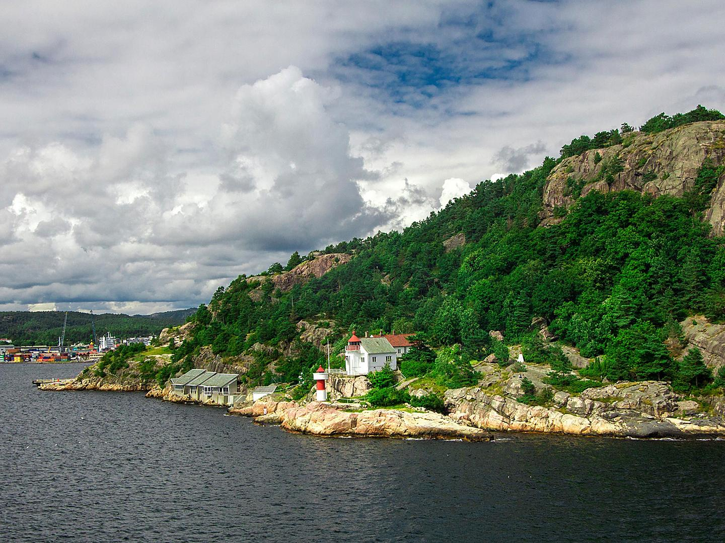 Kristiansand, Norway, Coastal Mountain