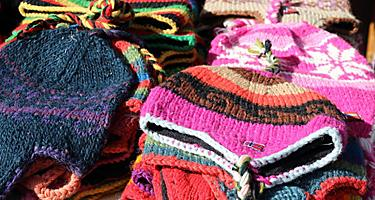 Assorted wool hats in Norway