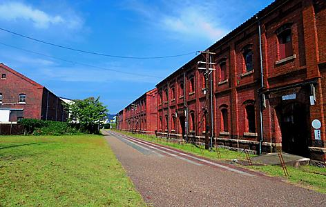 Maizuru's World Brick Museum Exterior View