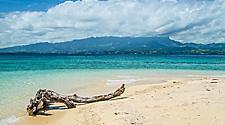 An island off the coast of Lautoka, Fiji