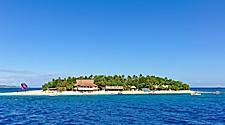 View of Mana Island in Fiji