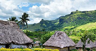 A village in Fiji