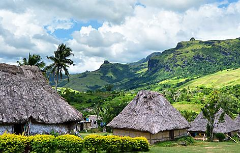 A village in Fiji