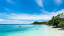 A beach on Lifou, Loyalty Islands