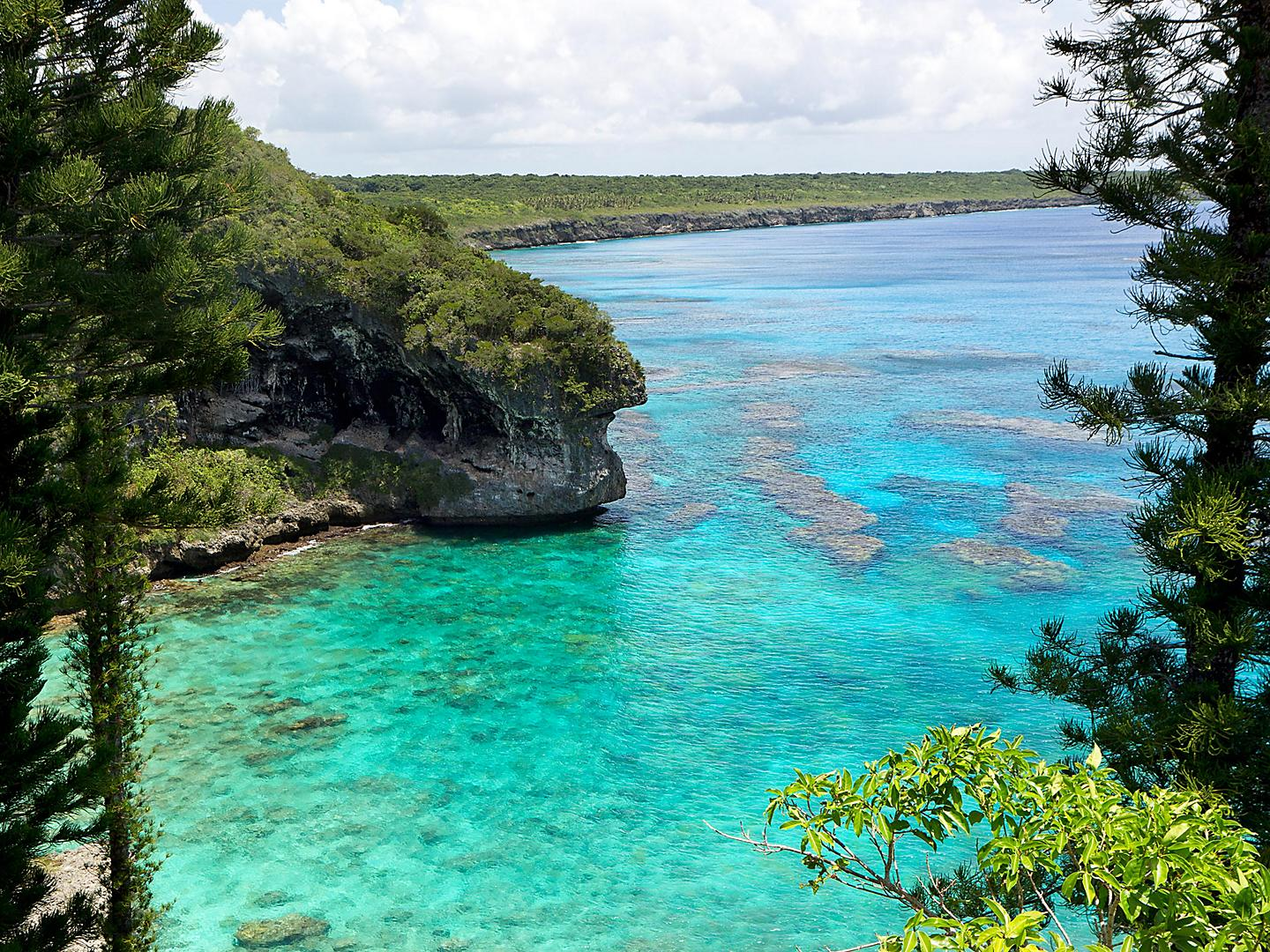 Lifou, Loyalty Islands, Cliffs of Jokin Coral Reefs