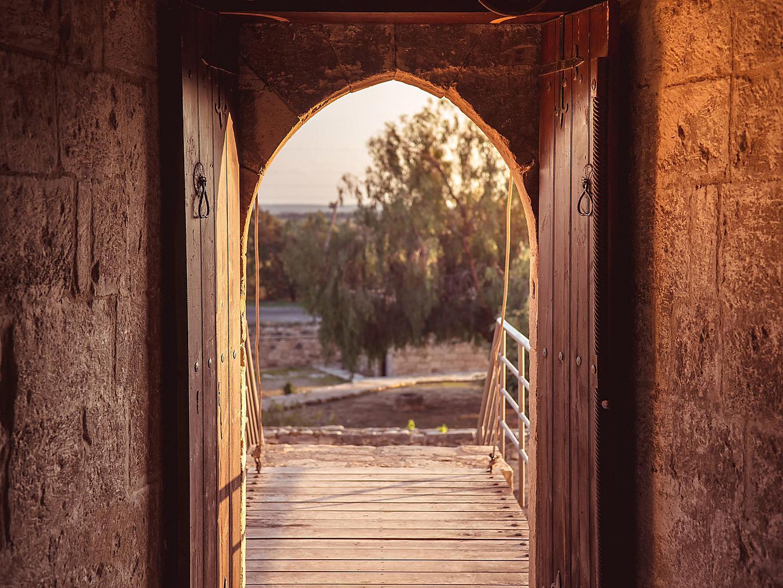 Limassol, Cyprus Kolossi Castle Gate