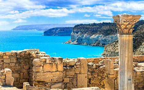 limassol cyprus old ruins