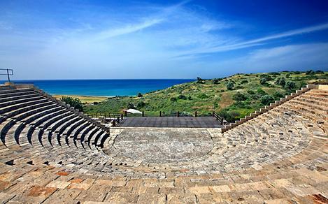 Roman Theatre Ancient Kourion, Limassol, Cyprus