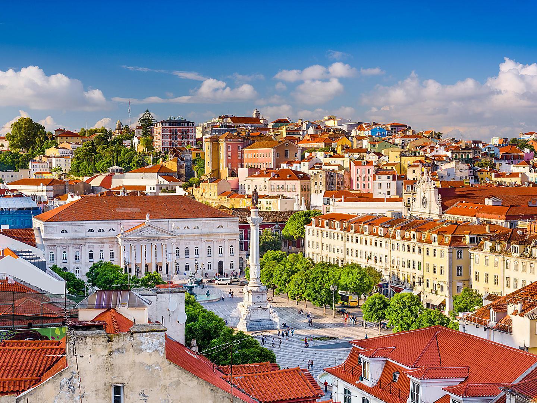 Lisbon, Portugal, Cityscape