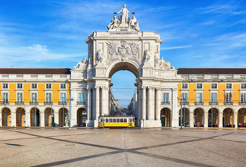 Lisbon Portugal Praca do Comercio