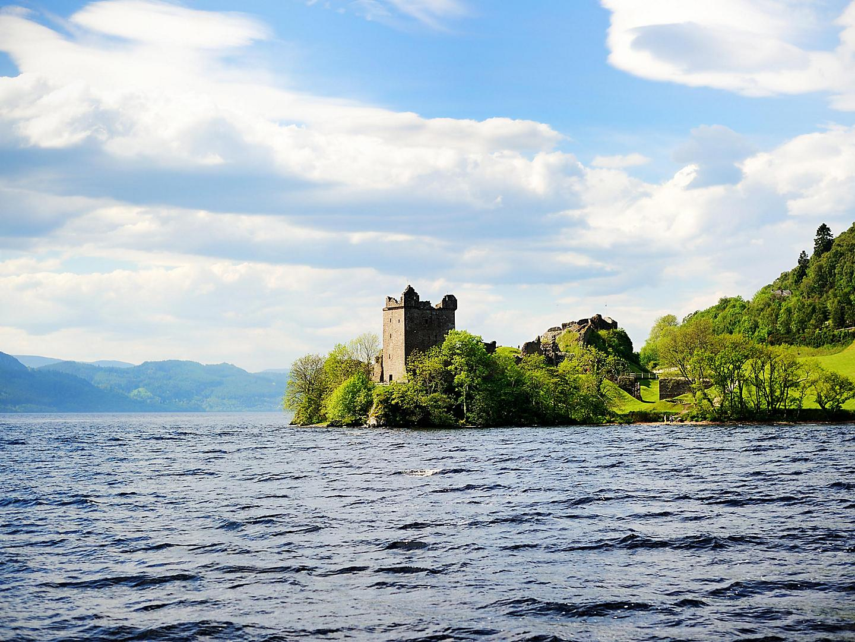 Inverness / Loch Ness, Scotland, Urquhart Castle