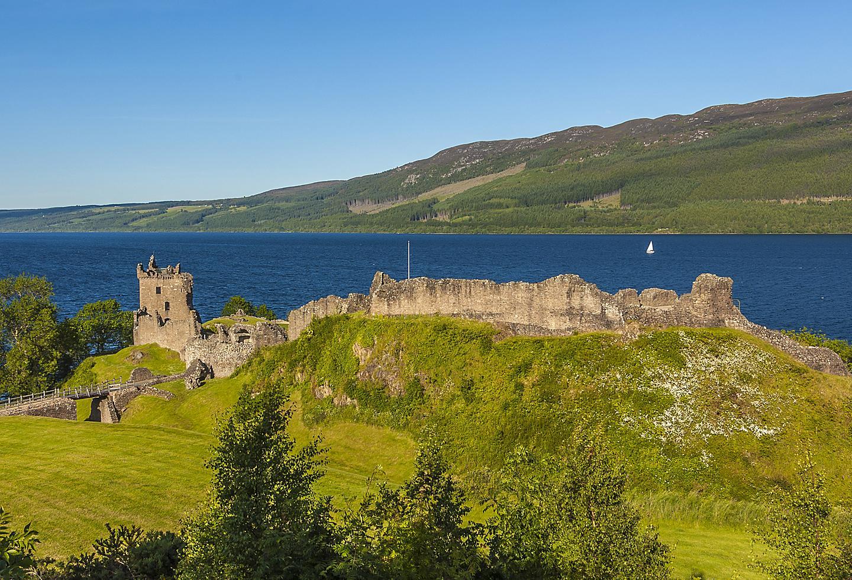 Scotland Inverness Loch Ness Castle