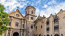 San Agustin, a Roman Catholic Church in Manila, Philippines