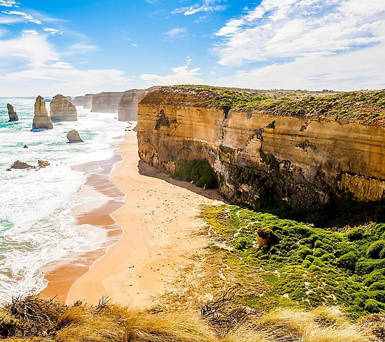 Melbourne, Australia Coast Beach Nature