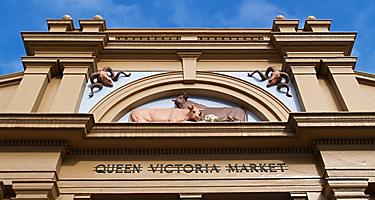 Shopping in the Queen Victoria Market in Melbourne, Australia