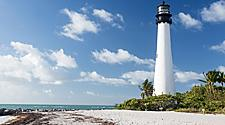 Bill Bags Cape Florida State Park Lighthouse in Miami, tourist spot