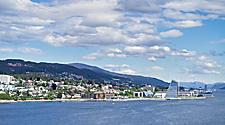 Coastal view of Molde, Norway