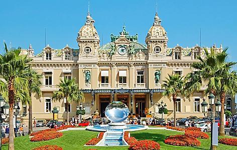 Front of the Grand Casino I Monte Carlo, Monaco