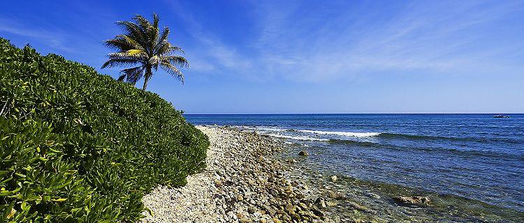 montego bay jamaica beach scenery