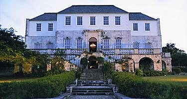 White Witch of Rose Hall legend, mansion in Montego Bay, Jamaica