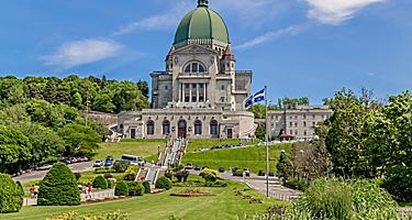 Saint Joseph's Oratory of Mount Royal, Canada's largest church, in Montreal, Quebec