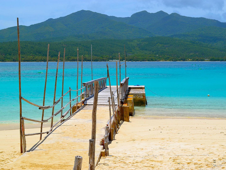 Mystery Island, Vanuatu Beach Dock