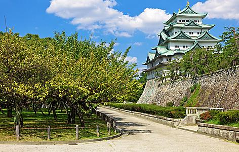 Visit the castle in Nagoya, Japan
