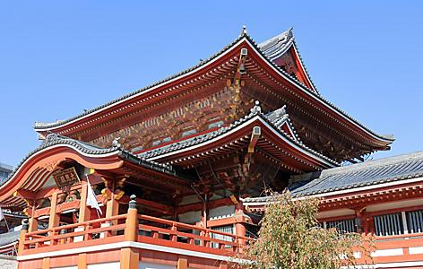 Osu Kannon temple in Nagoya city, Japan