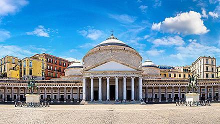 San Francesco di Paola church in Naples, Italy