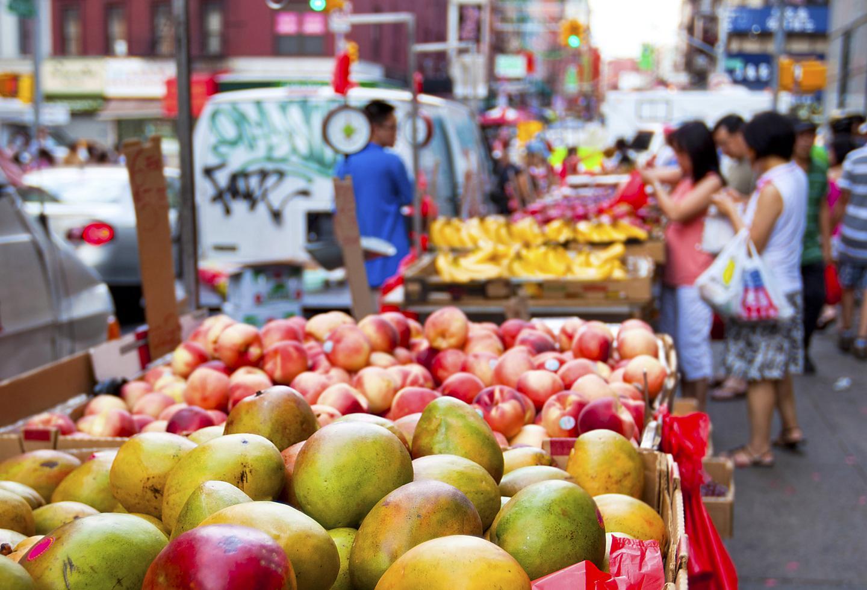 New York China Market Fresh Fruit