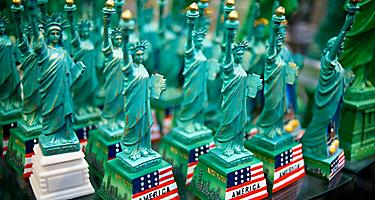 Miniature Statue of Liberty souvenirs