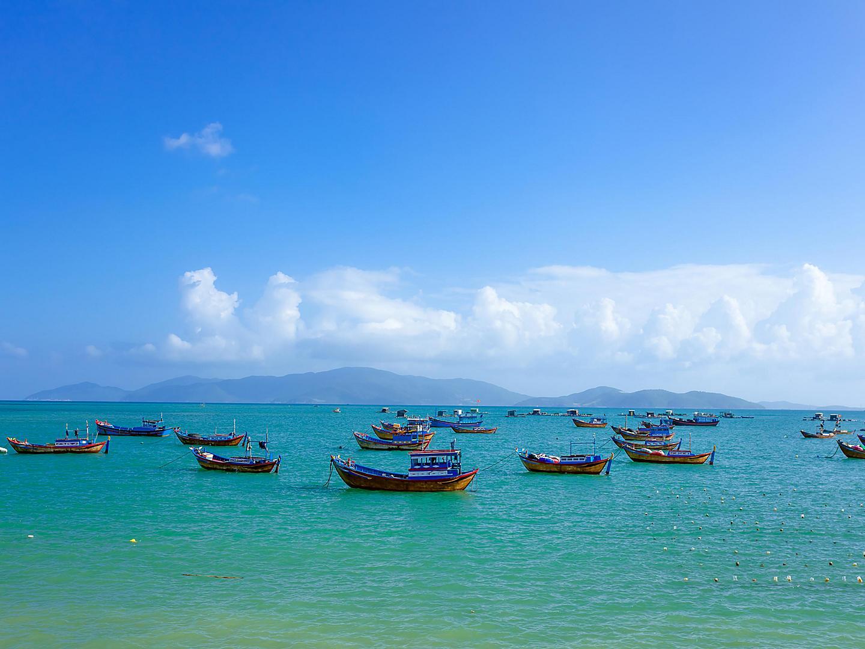 Nha Trang, Vietnam Fishing Boats