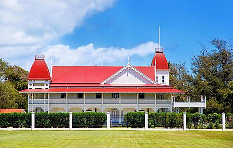 Royal Palace in Nuku'alofa on Tongatapu island, Tonga