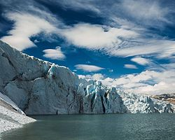 The Josetedalsbreen Glacier in Norway