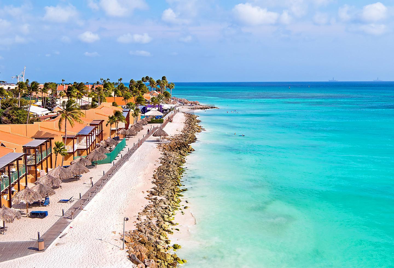 Aruba Druif Beach Coast Line