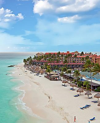 Aruba Manchebo Beach Coast Sunny Day