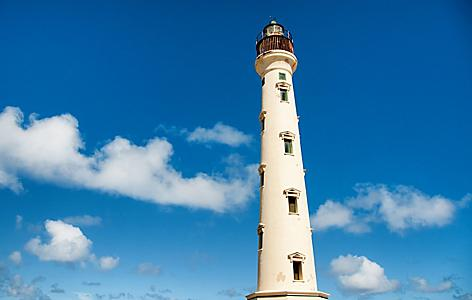 Sunny day at the California Lighthouse in Hudishibana, Oranjestad, Aruba