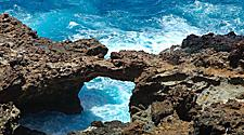 Natural Bridge at Blackstone Beach, Oranjestad, Aruba