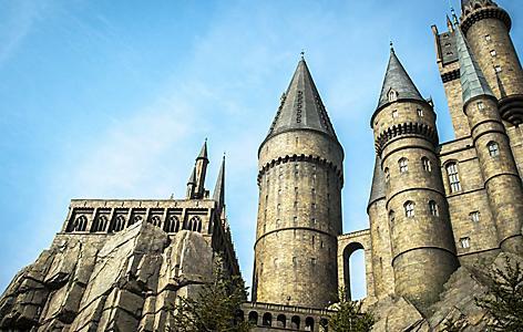 orlando florida universal studios hogwarts castle
