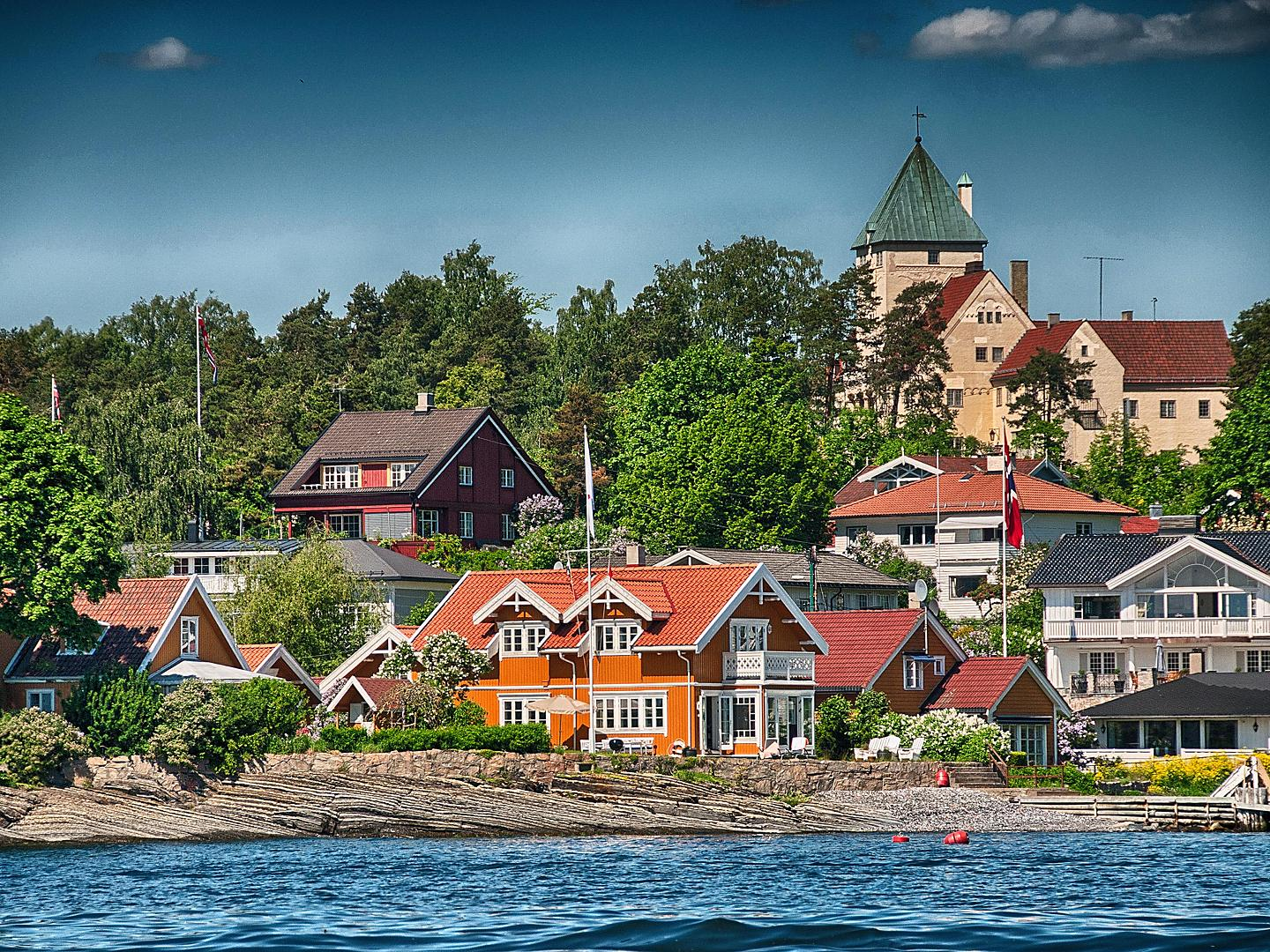 Oslo, Norway, Coastal Buildings