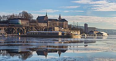 The Akershus Fortress in Oslo, Norway