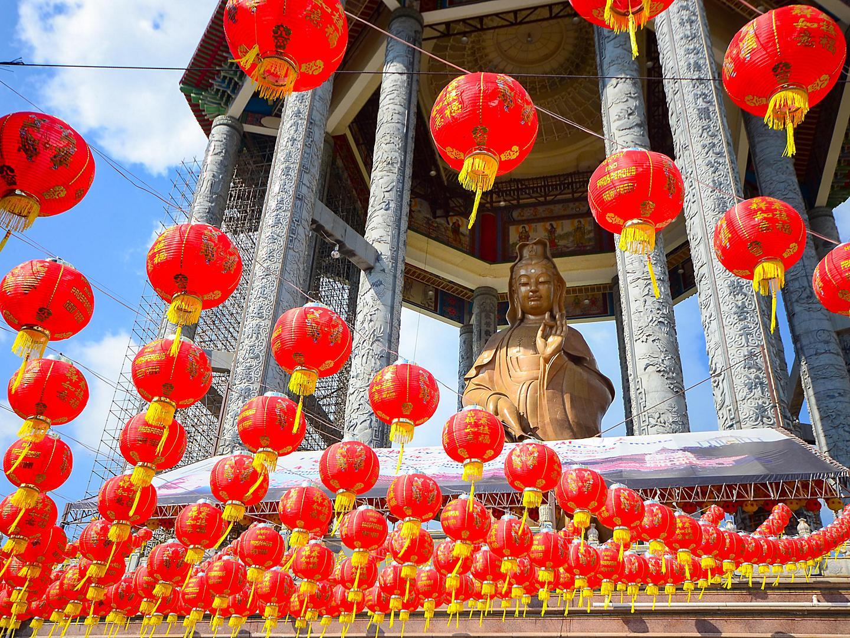Penang, Malaysia Red Lanterns